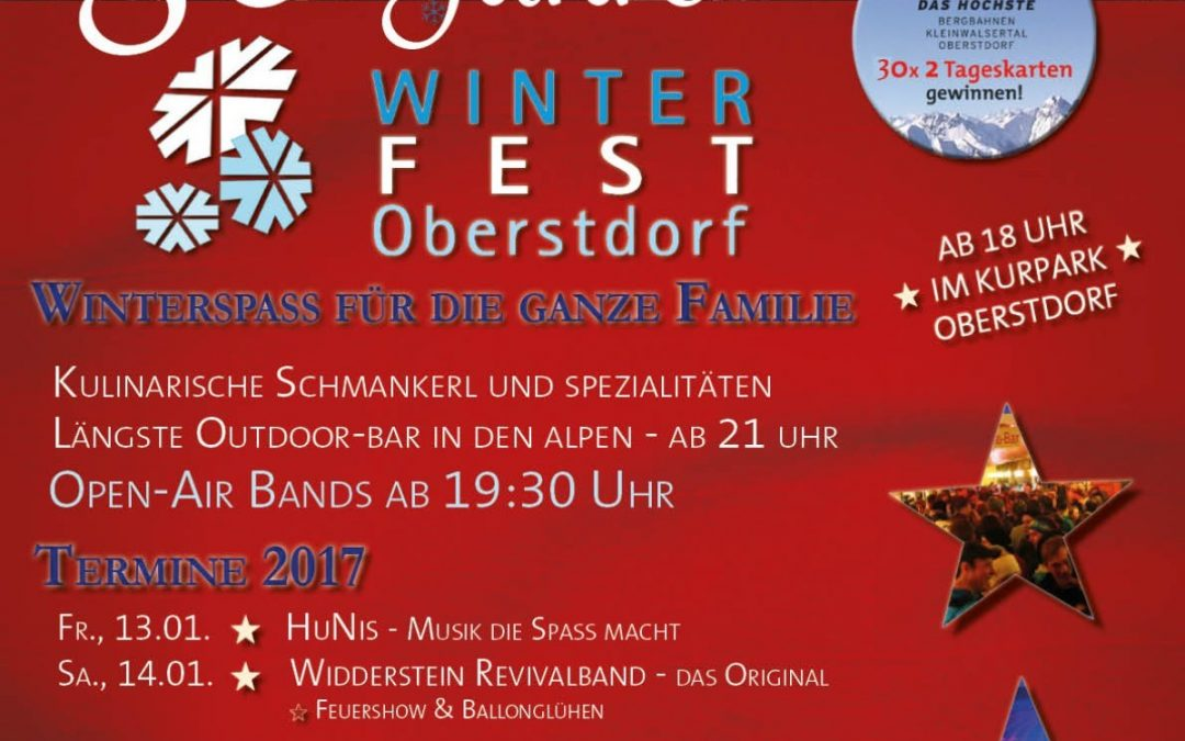 Winterfest Oberstdorf