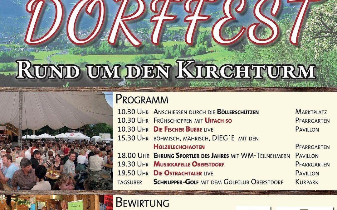 Oberstdorfer Dorffest 2017