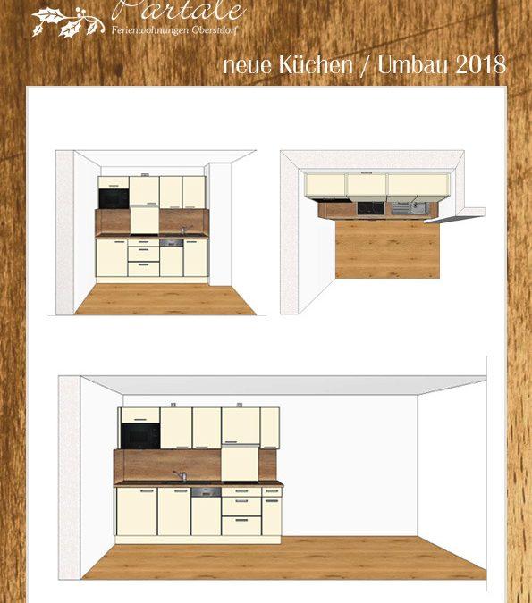 Haus Partale neue Küchen