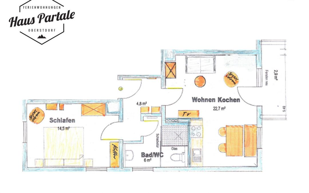Haus Partale neue Ferienwohnungen