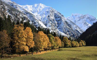Herbstlich Willkommen in Oberstdorf