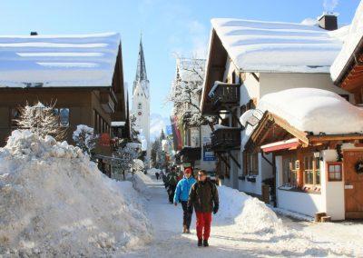 Winterurlaub Oberstdorf