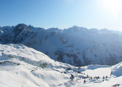 Oberstdorf Allgäu Winter Urlaub