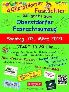 Oberstdorfer Fasnachtsumzug 2019