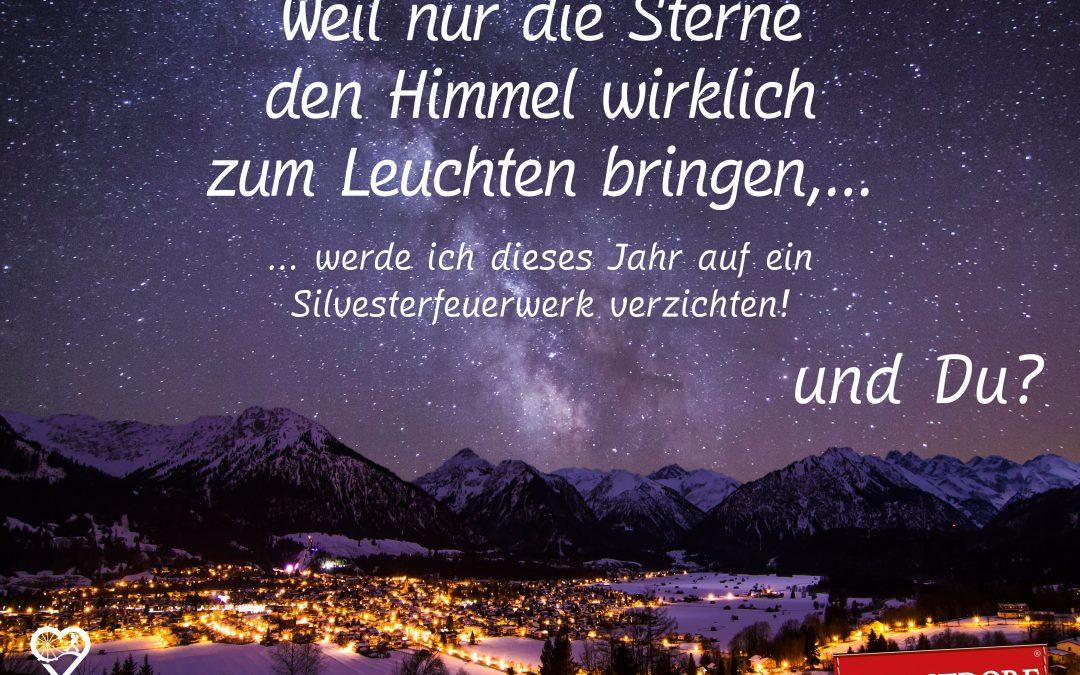 Silvester 2019 – keine Raketen für Oberstdorf