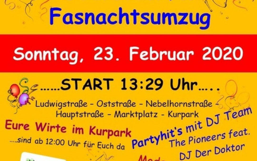 Oberstdorfer Fasnachtsumzug 2020