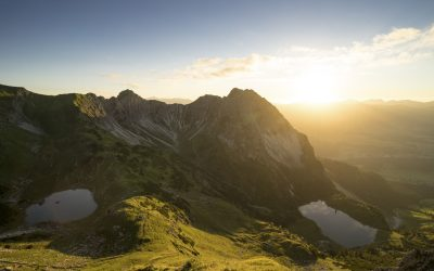 Vorfreude auf Sommerurlaub in Oberstdorf
