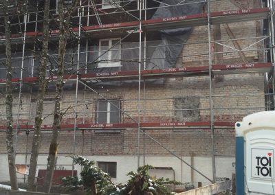 Haus Partale Sanierung April 2021