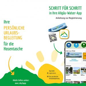 Allgäu Walser App Anleitung