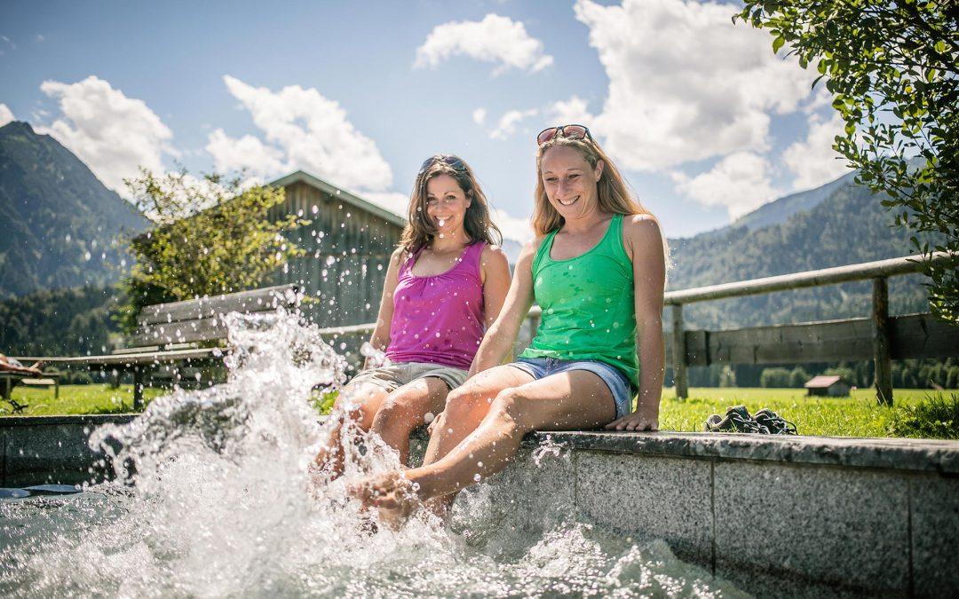 Oberstdorf ist auch anerkannter Kneippkurort
